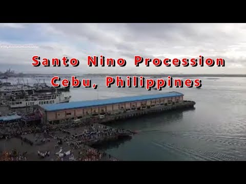 Feast of Santo Niño Fluvial Parade and Procession Cebu, Philippines