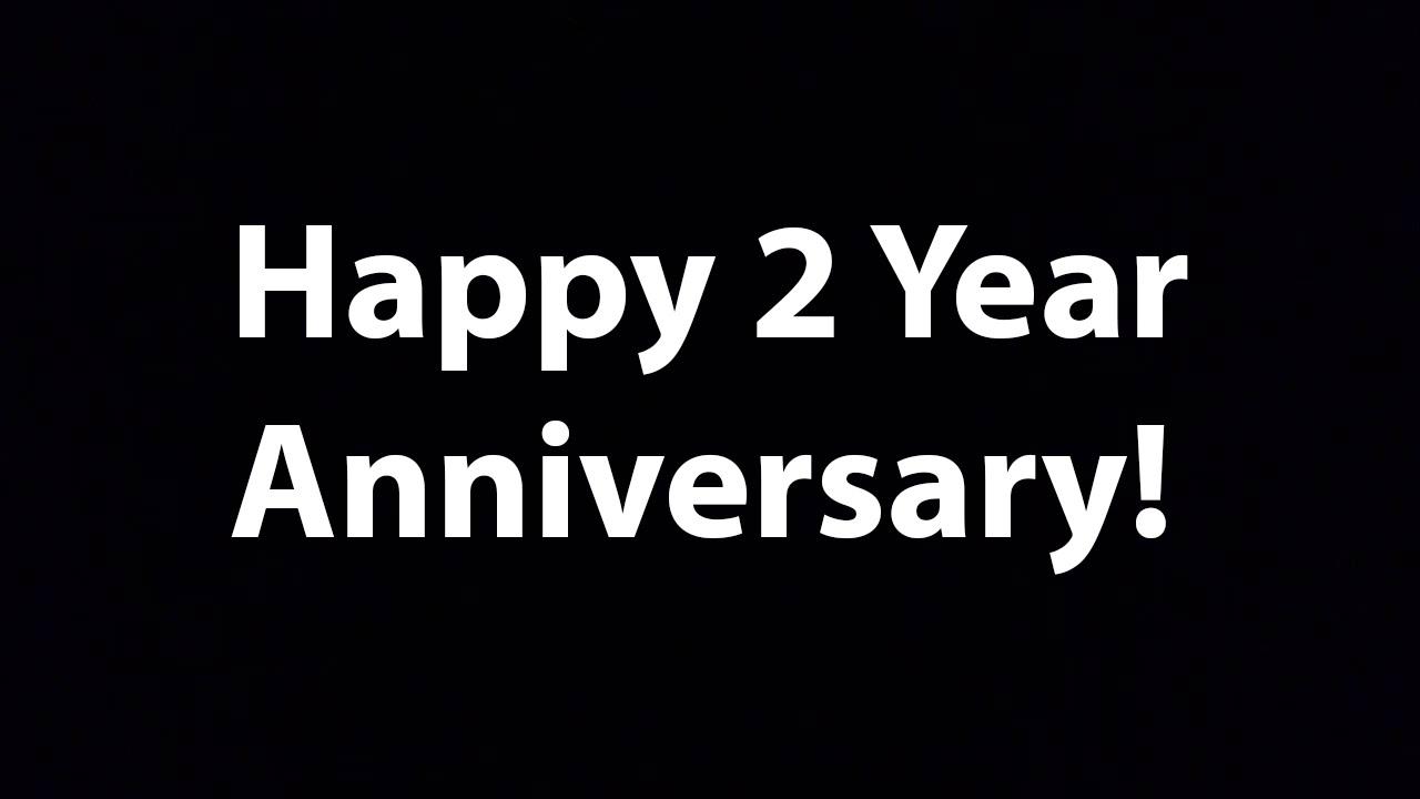 Happy year anniversary youtube