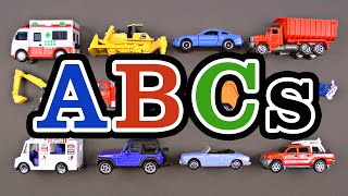 Best Toddler Learning ABCs Cars Trucks Street Vehicles for Kids - Learn the Alphabet for Babies