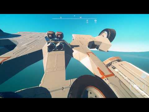 Planet Nomads: Having some fun in my Puddle Jumper