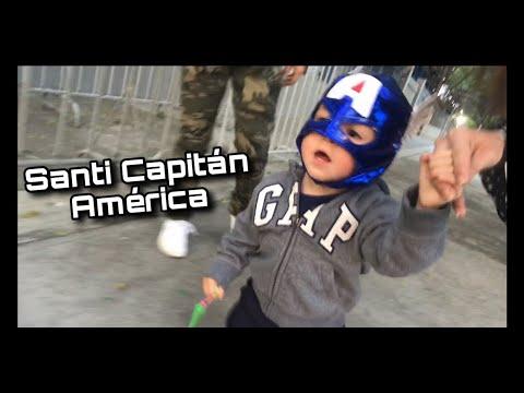 Santi conoce a los Avengers ✨