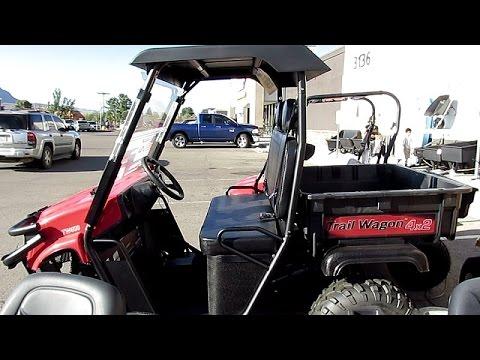 Trail Wagon Tw400 Utv New Youtube