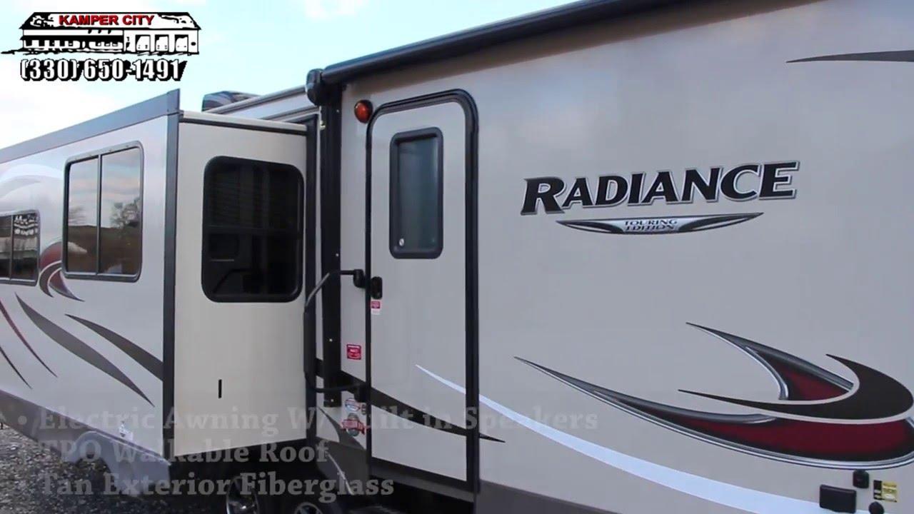 2185 1 RV Trailer Camper Cruiser Radiance Logo Decal Graphic
