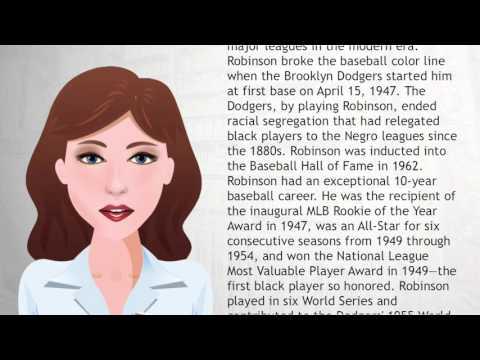 Jackie Robinson - Wiki Videos