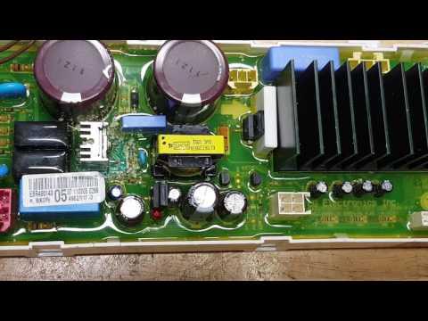 Hướng dẫn sửa máy giặt LG Inverter, Dạy sửa board máy lạnh, dạy sửa board máy giặt, 0907716705 - 동영상