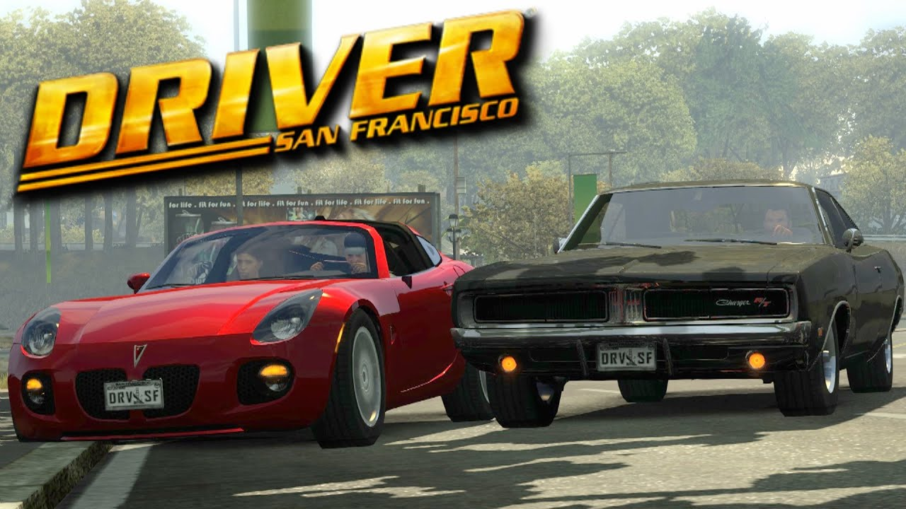 Driver San Francisco- 1969 Black Dodge Charger Chase (MOD)