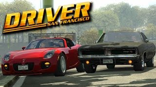 Driver San Francisco- 1969 Black Dodge Charger Chase (MOD)