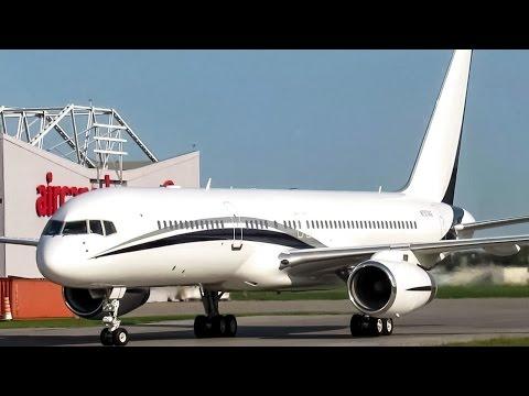 Funair Boeing 757-200(WL) (B752) landing in Montreal (YUL/CYUL)