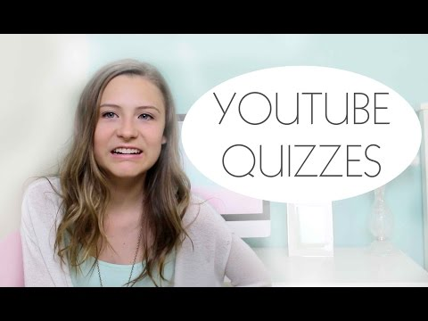 Taking Online Quizzes About YouTube