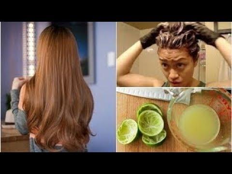"""Nhuộm tóc nâu hạt dẻ """"tẹt ga"""" chỉ bằng vài quả chanh vừa nhanh vừa rẻ lại đẹp như salon"""
