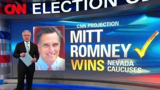 Romney projected to win Nevada