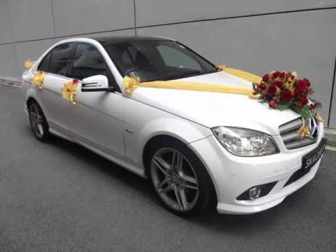 Red Wedding Car Flowers Car Decor Picture Ideas Youtube