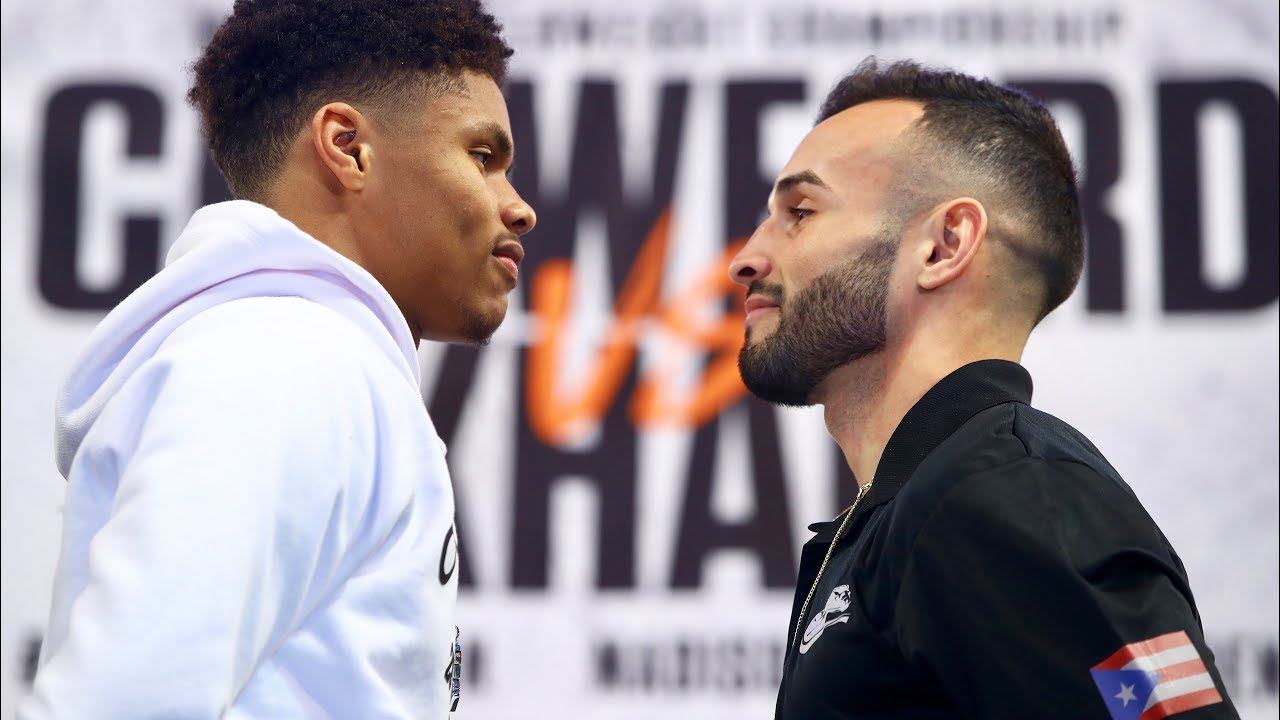 SHAKUR STEVENSON faces his TOUGHEST challenge to date.