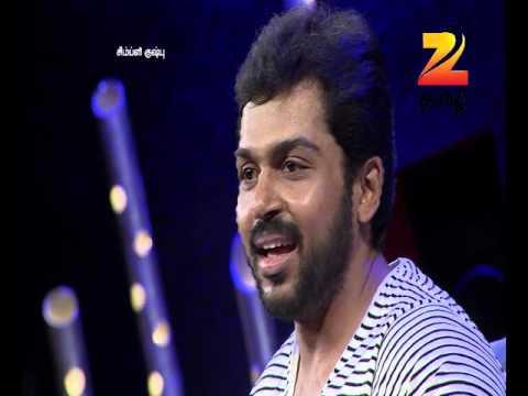 Simply Kushboo - Tamil Talk Show - Episode 27 - Zee Tamil TV Serial - Best Scene