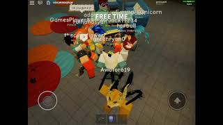 ROBLOX Dota dance party