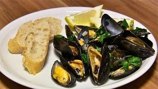 Muscheln-Miesmuscheln mediterran-Sizilianisches Miesmuscheln Rezept