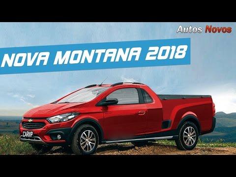 Nova Montana 2018 novo visual - Autos Novos