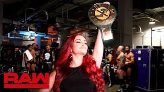 Maria Kanellis becomes 24/7 Champion: Raw, July 29, 2019