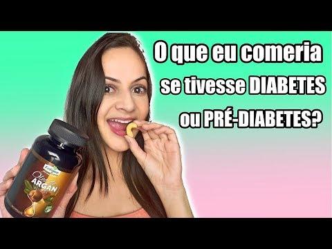 O que eu comeria se eu tivesse DIABETES ou PRÉ-DIABETES?