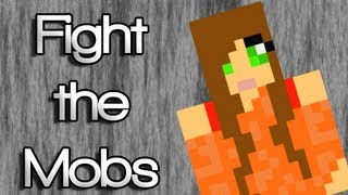 "♪ ""Fight the Mobs"" A Minecraft Song Parody of Justin Bieber"