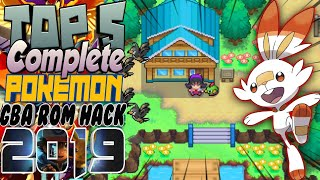 Top 5 Complete Pokemon Gba Rom Hack With Mega Evolution of 2019