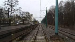 Tramwaje Śląskie  : Linia nr 6 Bytom Politechnika Slaska - Katowice Brynow [4.01.2014]