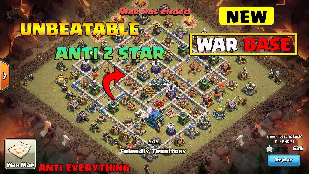 Unbeatable Best Th12 War Base 3