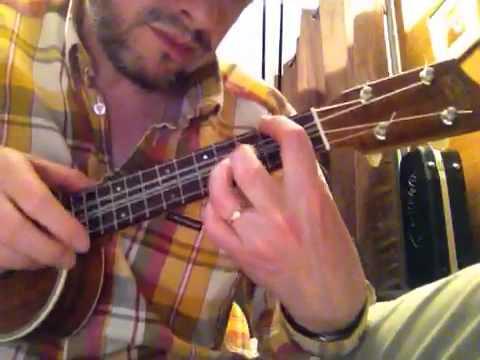 Paranoid android chords on ukulele tutorial