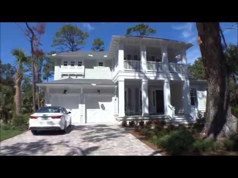 The Sebastian Model by Riverside Homes in Ocean Ridge on St Augustine Beach; For Buyers Only Realty