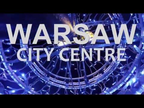 Warsaw city time lapse (HD)
