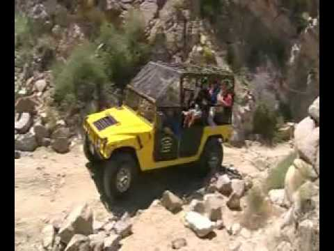Adventure Hummer Tours- San Andreas Fault Canyon