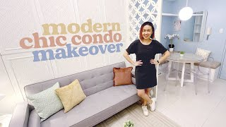One Bedroom Condo Makeover // Modern Chic Design // by Elle Uy