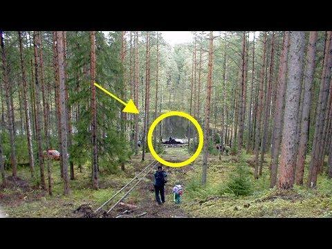 Bu Çocuk Ormanda Yürüyordu Ve Bir Şey Fark Etti. Şüphesiz Hiç Kimse Bunu Beklemiyordu.