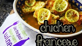 Chicken Francese | Low Carb & Gluten Free