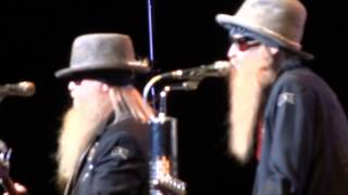 ZZ TOP Heard It On The X Live Montreal 2012 HD 1080P