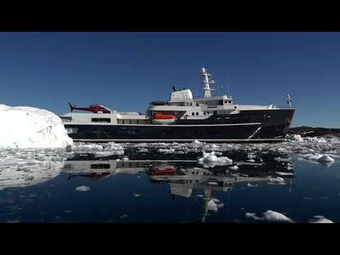 M/Y Legend Superyacht Charter and Heli-skiing in Greenland