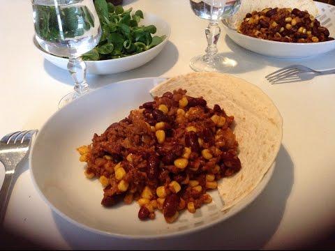 Recette du Chili con carne facile et rapide