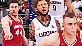 nba 2k16 mycareer cam drops 30 points in the ncaa national title game ft frank kaminsky