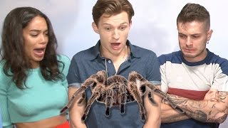 SPIDER CHALLENGE feat. Tom Holland & Laura Harrier