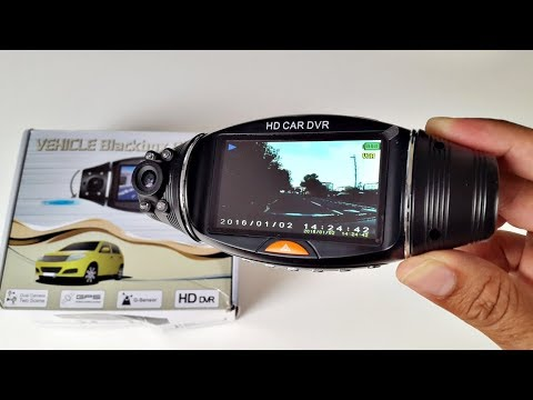 Nice Dual Camera Car Dash Cam - R310