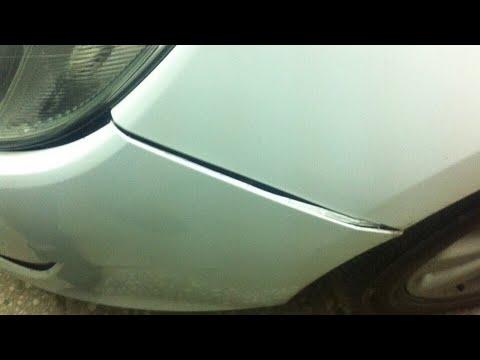 Ремонт креплений переднего бампера и птф Opel Astra J