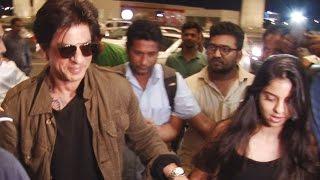 Shahrukh Khan protects daughter Suhana Khan from media franzy