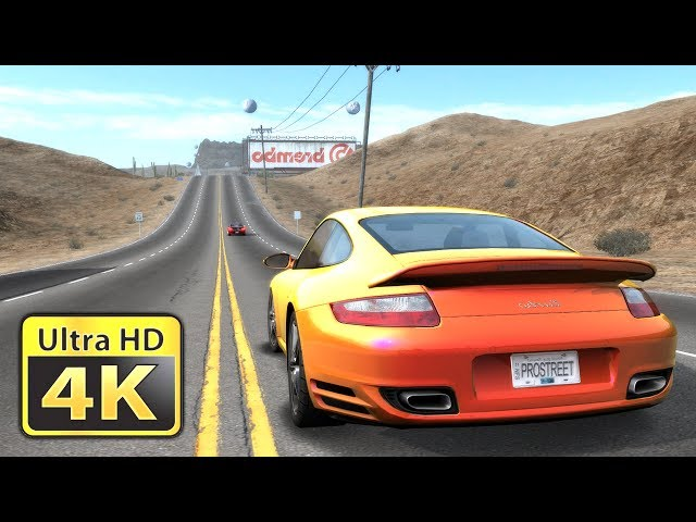 Need for Speed Pro Street : Old Games in 4K