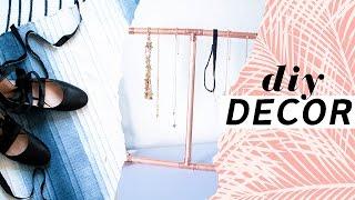 DIY Room Decor For Spring | Budget Room Decor Ideas | Copper Pipe DIY