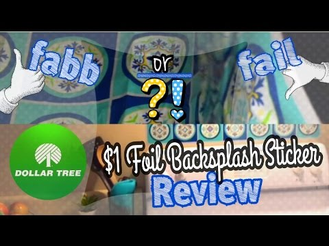 Dollar Tree Backsplash: fabb or fail?! (Dollar Tree Product Reviews 2016)<a href='/yt-w/ksHlpD0K9_A/dollar-tree-backsplash-fabb-or-fail-dollar-tree-product-reviews-2016.html' target='_blank' title='Play' onclick='reloadPage();'>   <span class='button' style='color: #fff'> Watch Video</a></span>