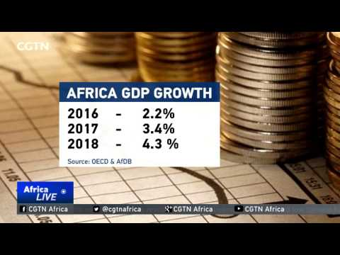 Africa's predicted GDP expansion for 2017 at 3.4%
