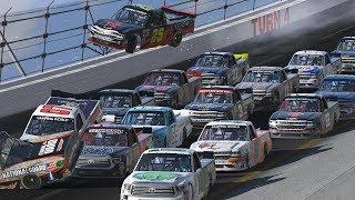 ANTIETAM PLZ LET STREAM ONCE! | Superspeedway Truck Series at Daytona '07 90 Laps