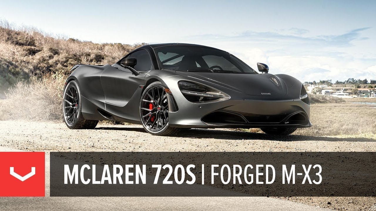 Mclaren 720s Boden Autohaus Vossen Forged M X3 Wheels Youtube