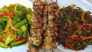 Азиатская кухня за 20 минут. Три вкусных блюда без хлопот, цыганка готовит.😋👍