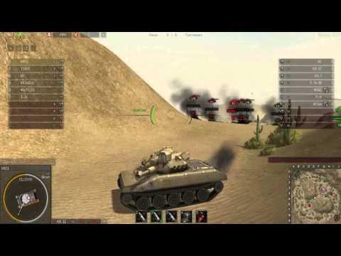 Ground War: Tanks обзор танка М551